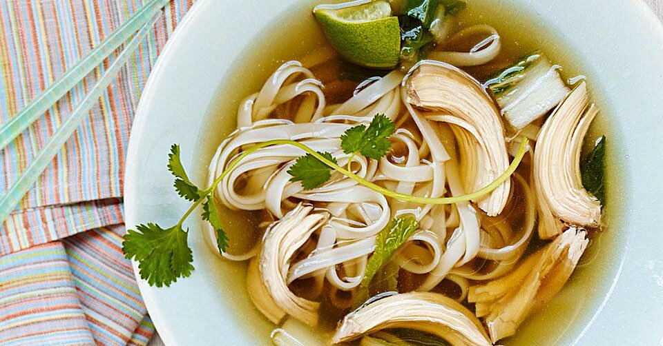 Slow Cooker Chicken Pho Recipe Eatingwell
