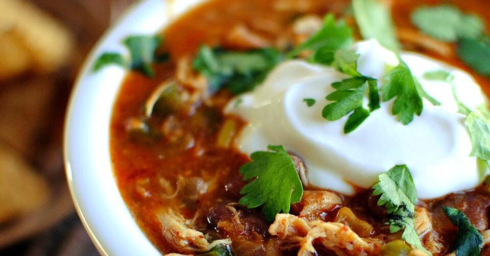 Picante Chicken Chili