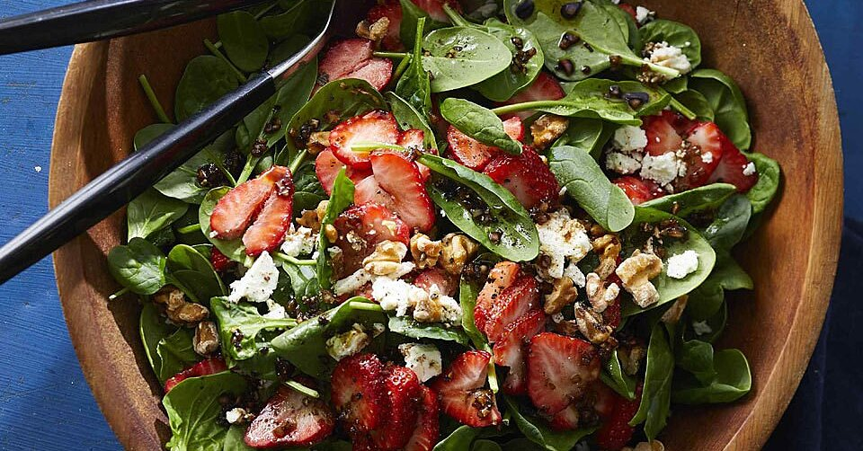 12 Spinach Salads That Are Getting Us SO Excited For Spring