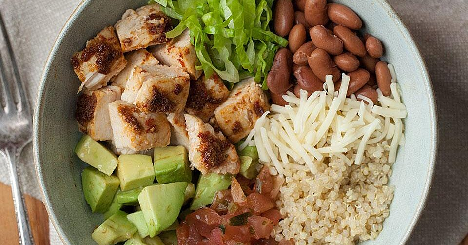 24 Healthy Chicken Bowl Recipes Perfect for Lunch