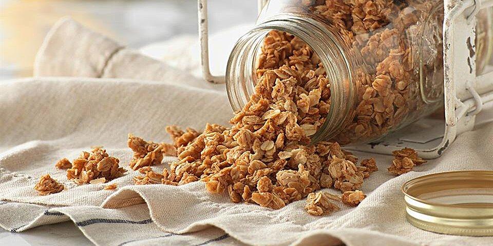 peanut butter granola from pam recipe