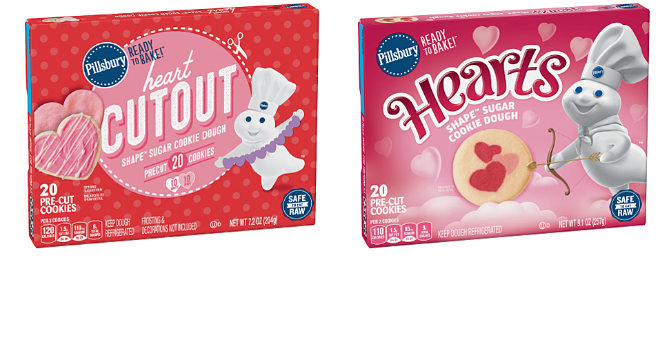Pillsbury Rolls Out Two New Cookie Doughs for Valentine's Day