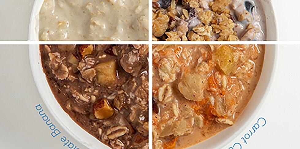 breeze overnight oats 4 ways