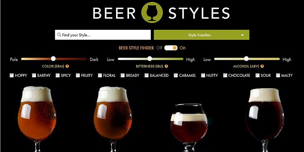 get the right beer with this interactive craft beer guide