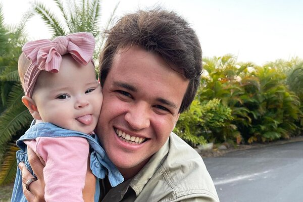 Bindi Irwin's Baby Grace Sticks Out Her Tongue In New 'Favourite' Photo With Chandler Powell
