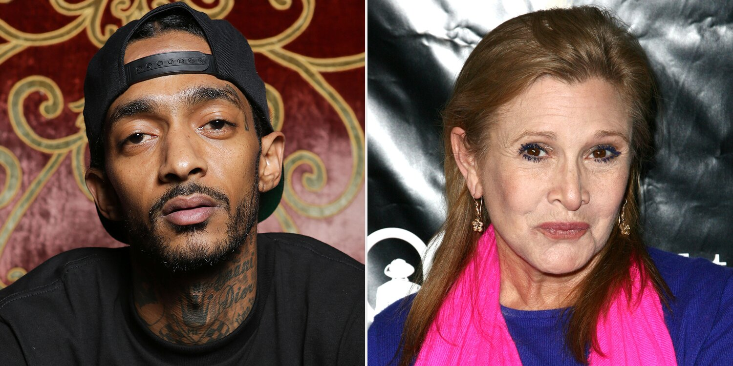 Nipsey Hussle, Carrie Fisher to be honored posthumously with stars on the Hollywood Walk of Fame.jpg