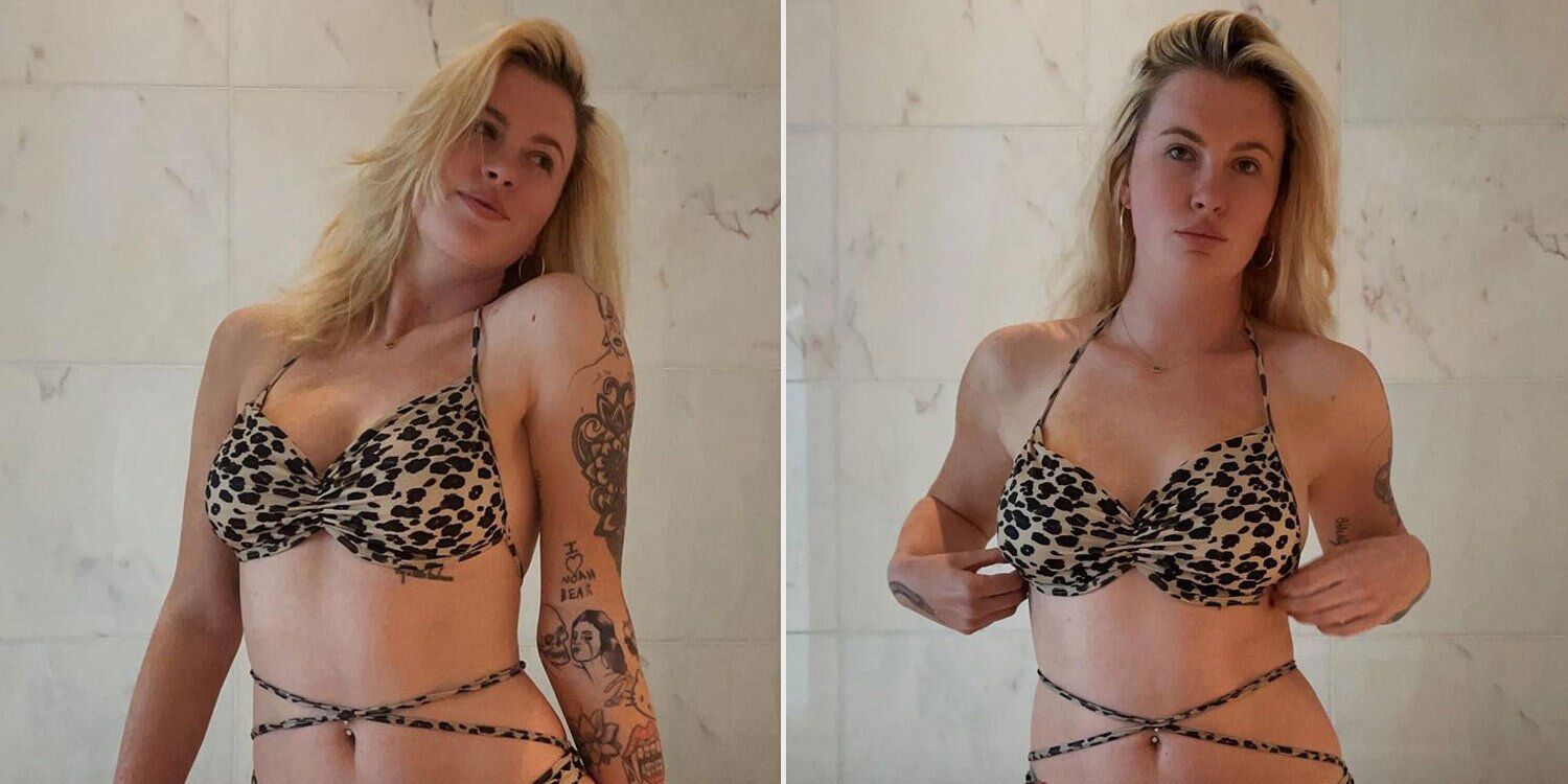 Ireland Baldwin Isn't Worried What Others Think as She Dons Leopard Bikini: 'It's Incredibly Freeing'
