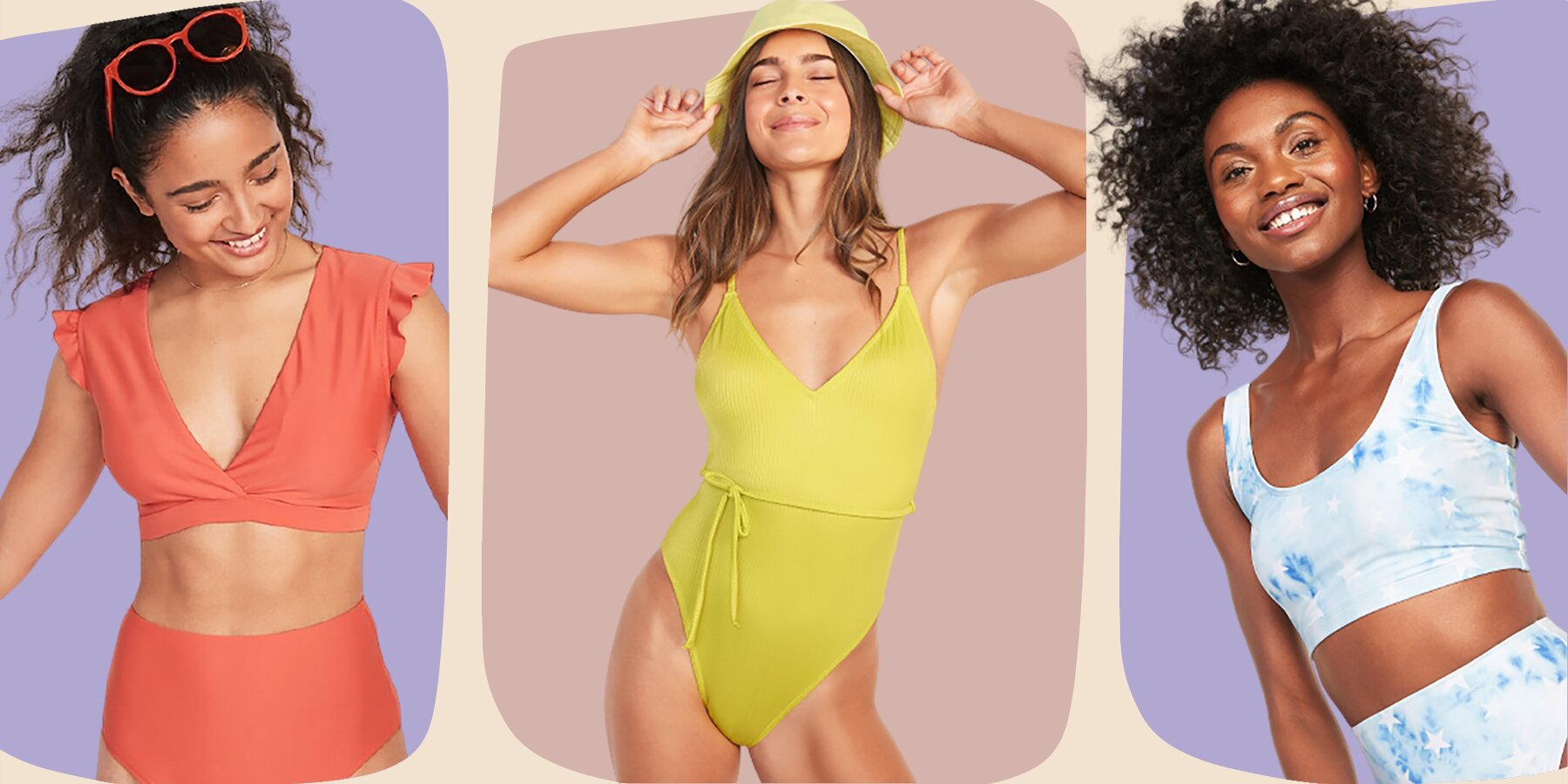 Image Old Navy Swimwear Is Colorful Size Inclusive and Affordable 8211 HelloGiggles