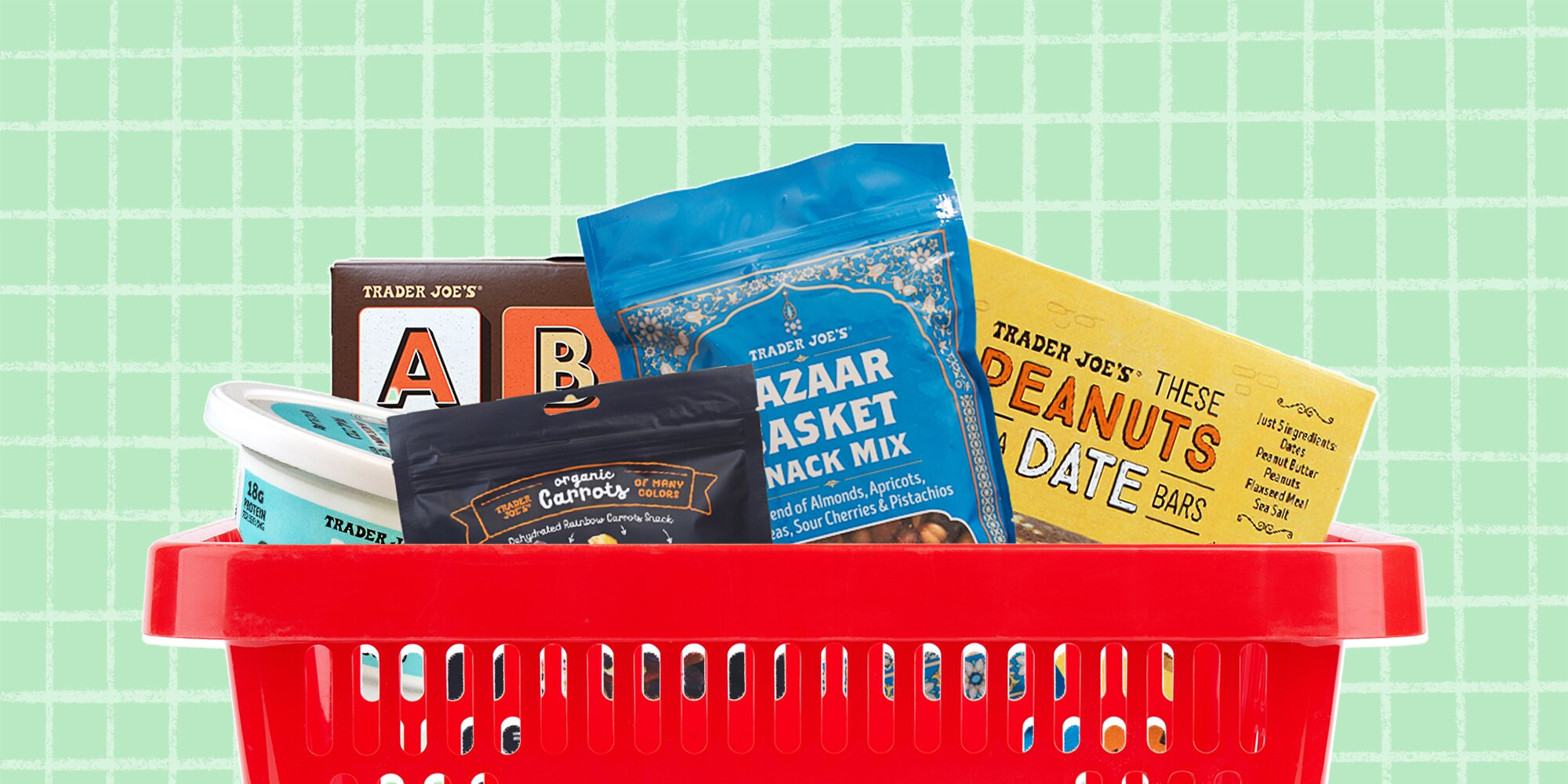 Best Healthy Snacks to Buy at Trader Joe's, According to a Dietitian