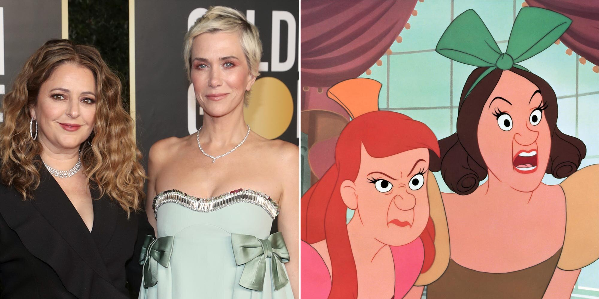 Kristen Wiig and Annie Mumolo are writing Disney film about Cinderella's evil stepsisters
