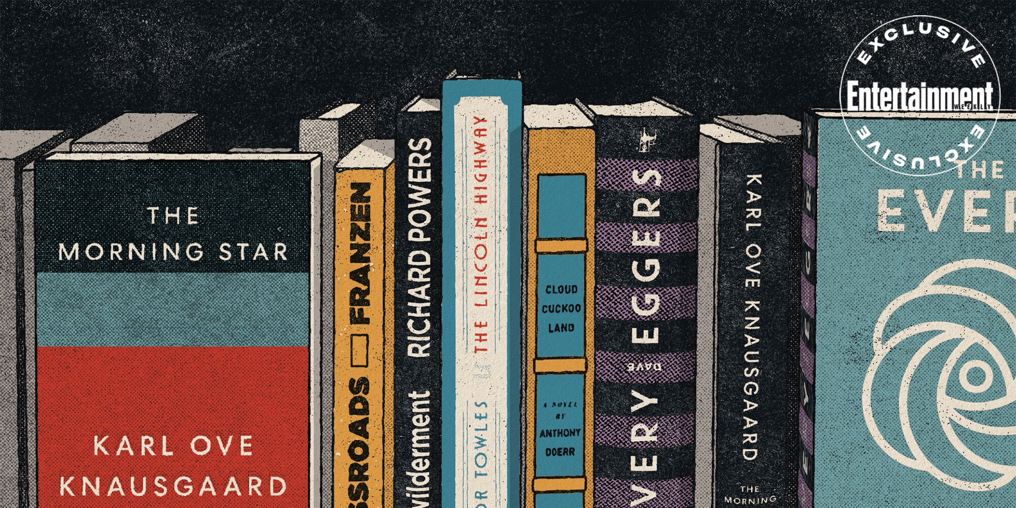 Men of Many Words: What's going on with this fall's blockbuster book releases