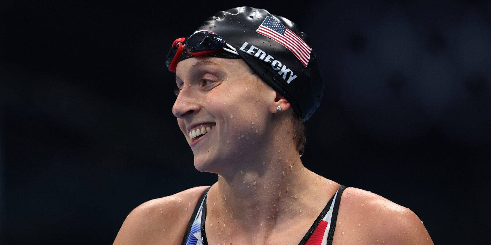 Katie Ledecky Makes History as First Olympic Champion in Women's 1500m Freestyle, Wins First Gold in Tokyo