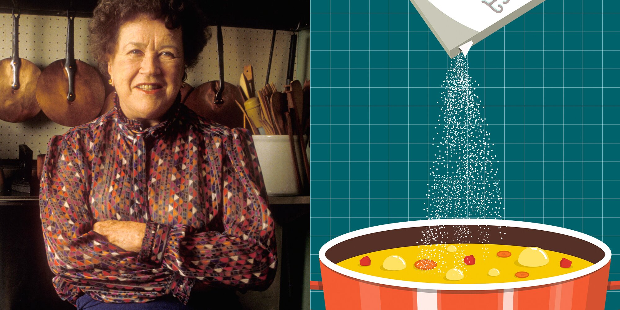 This One Ingredient Can Save an Over-Salted Soup, According to Julia Child