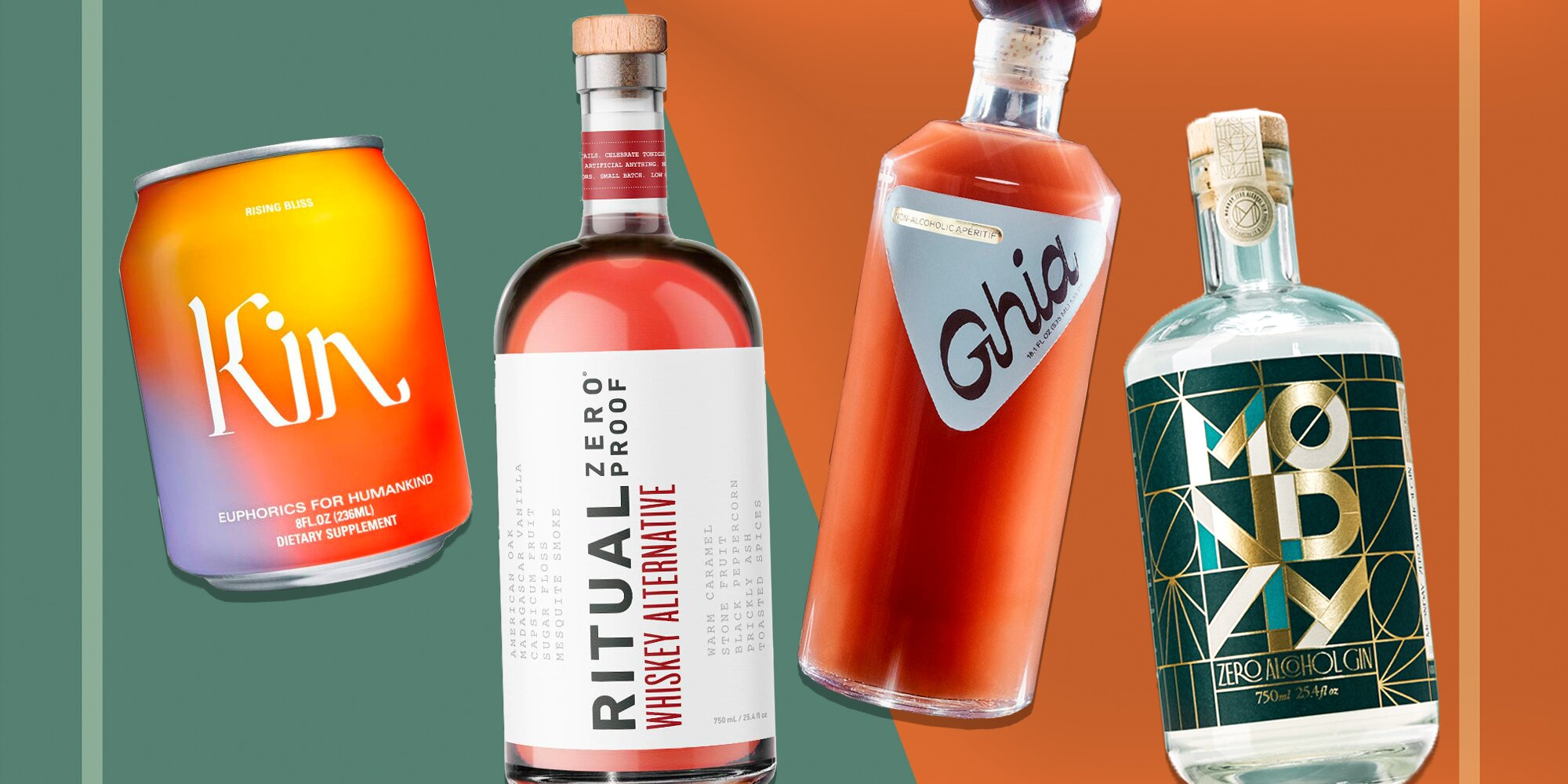 Shoppers Say These Non-Alcoholic Spirits and Canned Cocktails Are 'Indistinguishable' From the Real Thing