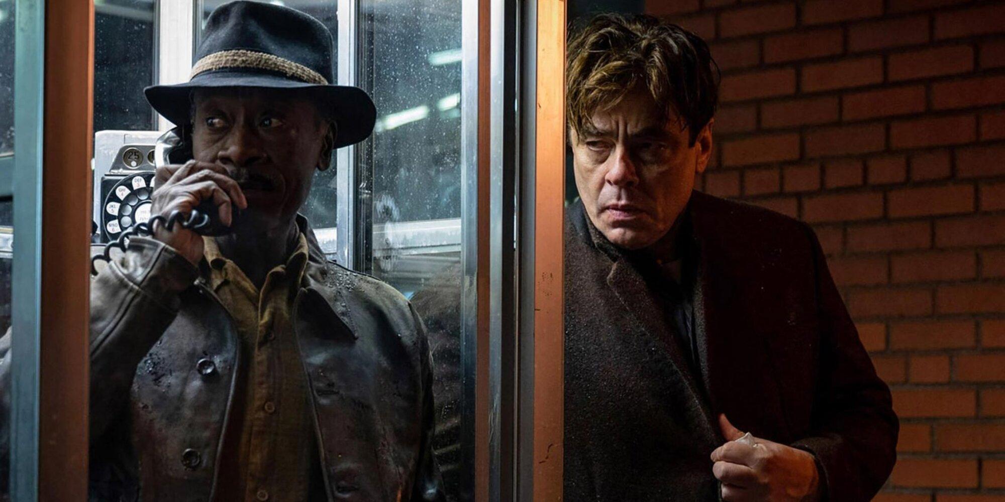 'No Sudden Move' stars Don Cheadle, Benicio Del Toro, and more pick their favorite crime movies