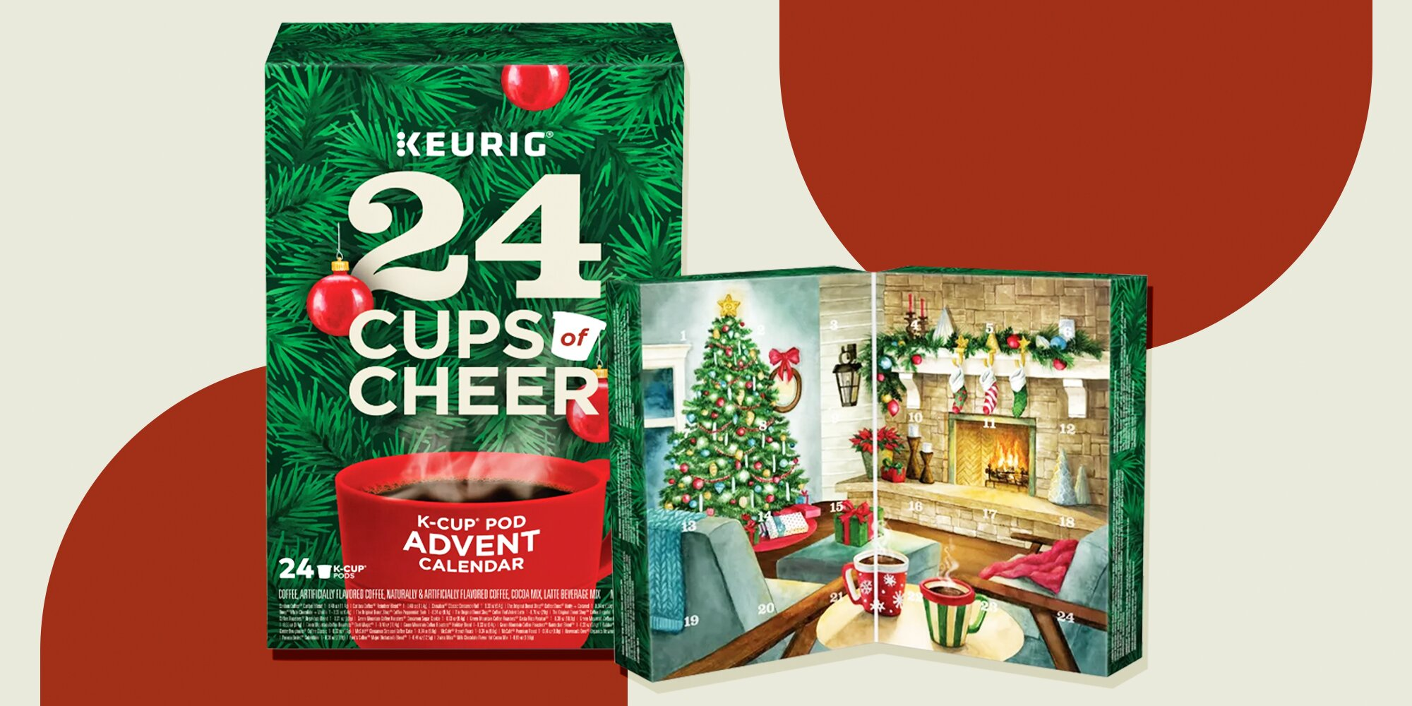 The Keurig Advent Calendar Is Already Selling Out, So Coffee Lovers Need to Buy It ASAP