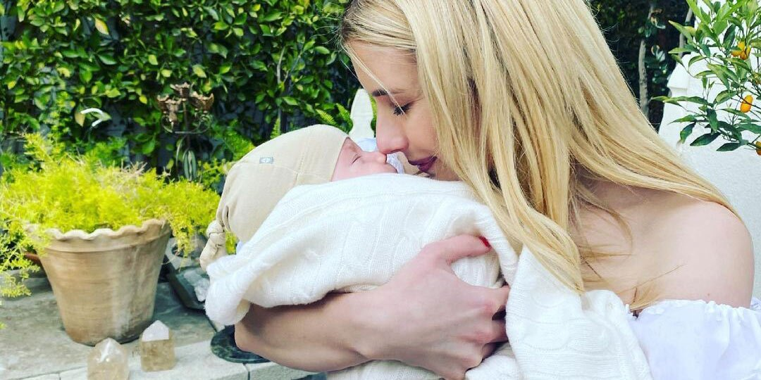 Emma Roberts Gives Rare Glimpse of Baby Son Rhodes in Sweet Mother's Day Post