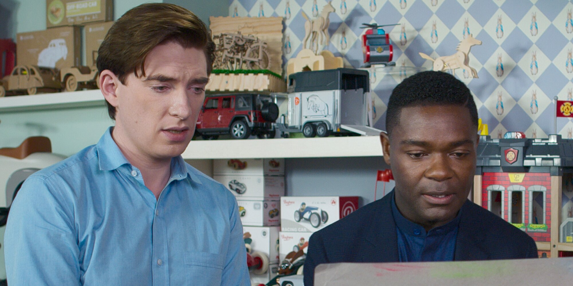 Domhnall Gleeson and David Oyelowo break down their 'ridiculous' Peter Rabbit 2 boxing scene.jpg