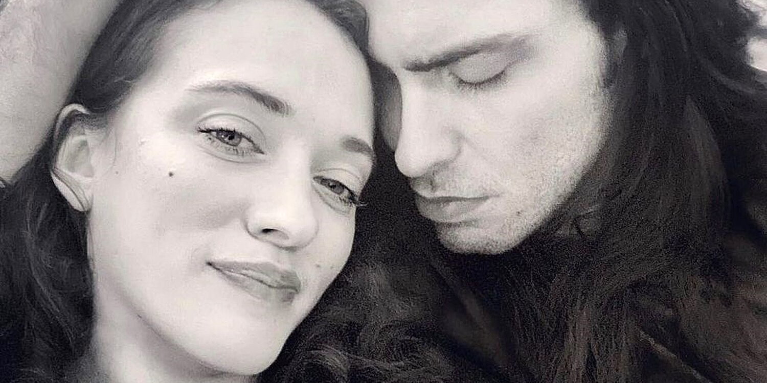 Andrew W.K. Shows Off Gold Band in Cozy Post for Love Kat Dennings' 35th Birthday