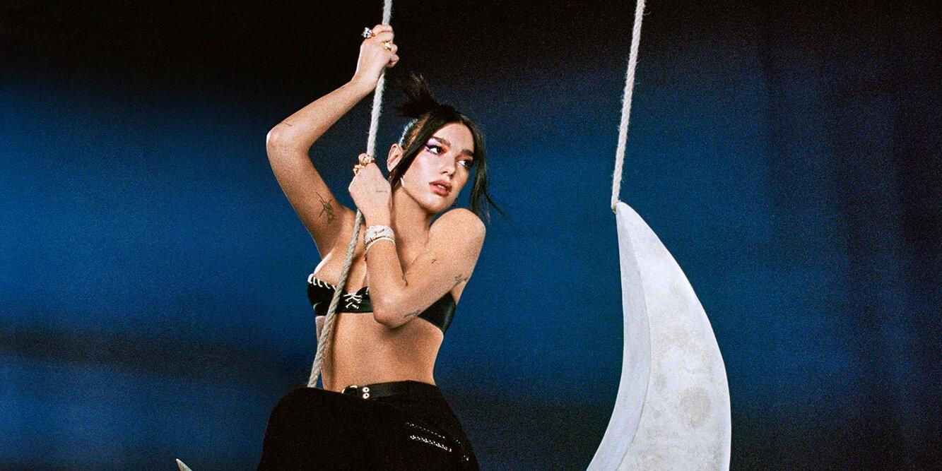Dua Lipa is an emerald goddess in new 'We're Good' music video.jpg