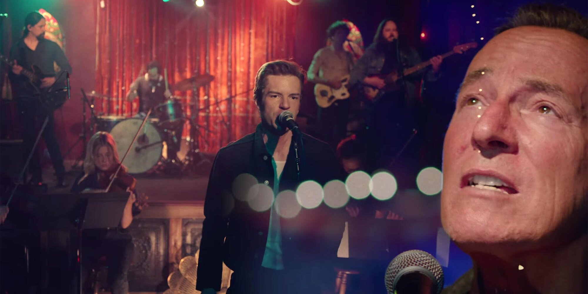 The Killers and Bruce Springsteen perform remake of 'A Dustland Fairytale' for the first time