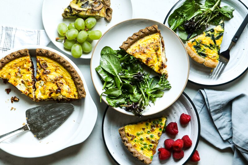 5-Ingredient Quiches feature