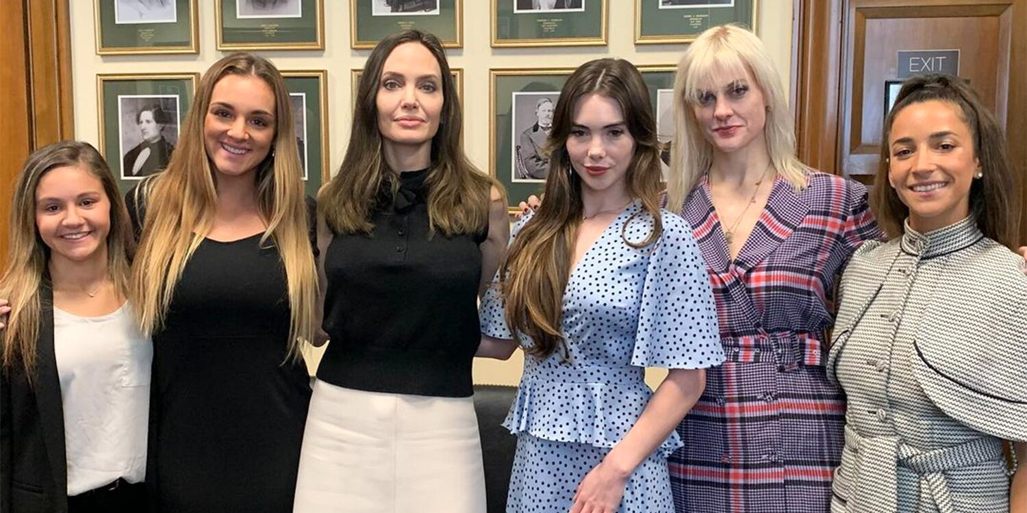 Angelina Jolie Says She Was 'Honored' to Meet McKayla Maroney, Aly Raisman: 'I'm in Awe of Their Courage'.jpg