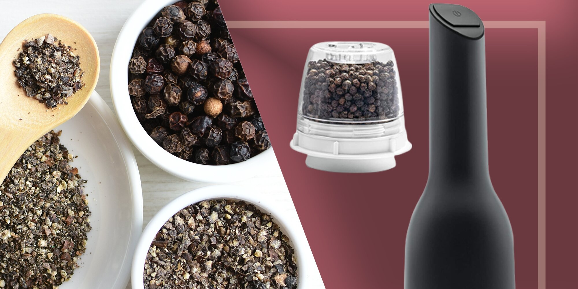This Electronic Spice Mill Makes Cooking with Whole Spices a Snap