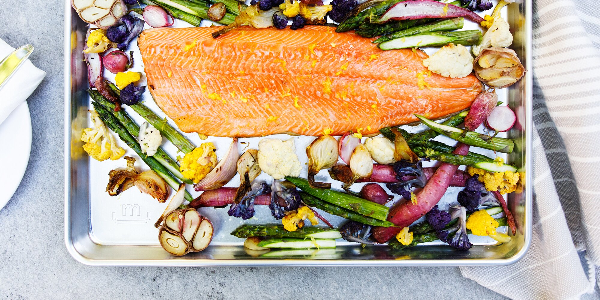 """This """"Perfect Sheet Pan"""" Deserves a Spot in Your Cabinet—Here's Why"""