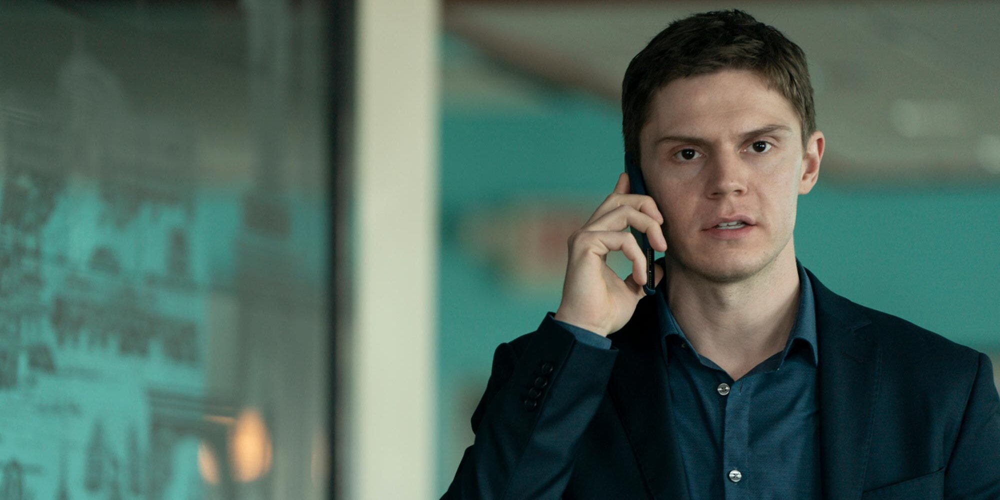 Evan Peters discusses that 'Mare of Easttown' shocker