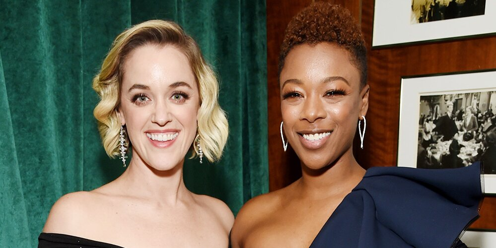 Handmaid's Tale star Samira Wiley and wife Lauren Morelli welcome baby girl George Elizabeth.jpg