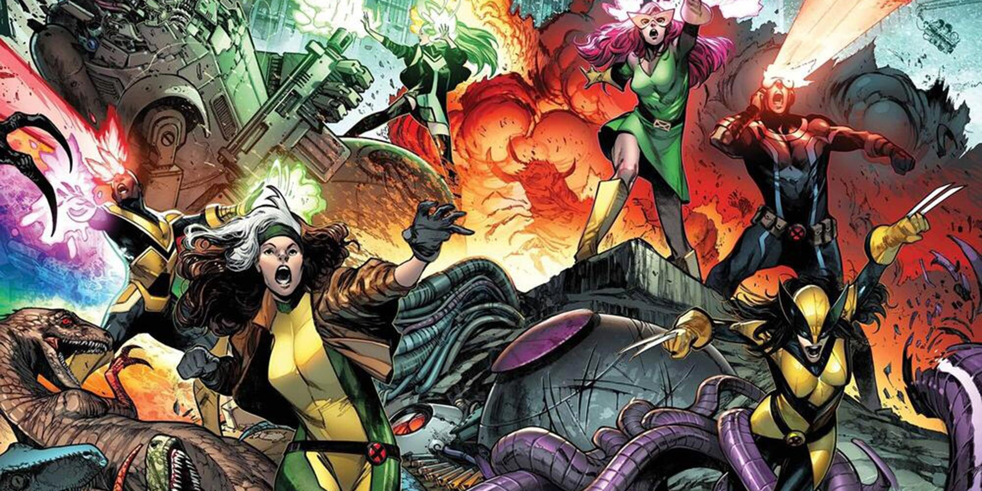 Marvel unveils the full, surprising lineup of new X-Men team
