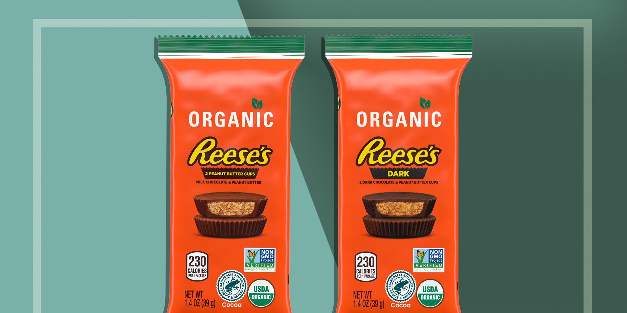 Organic Reese's Peanut Butter Cups Are Headed to the Candy Aisle
