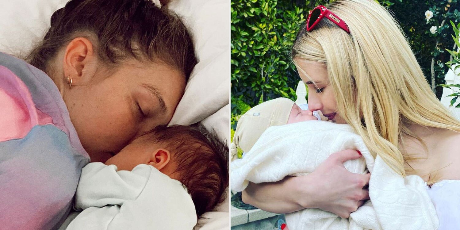 From Gigi Hadid to Bindi Irwin: Celebrity Moms Who Celebrated Their First Mother's Day This Year