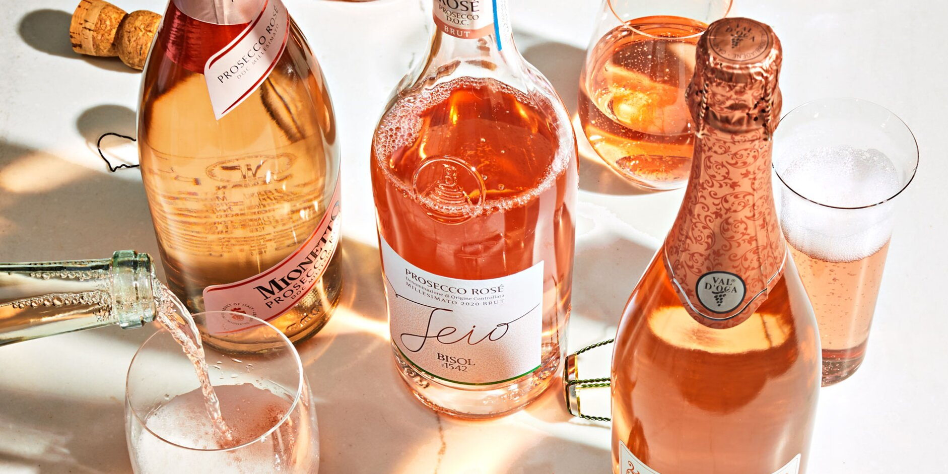 12 Sparkling Wines We're Loving This Summer