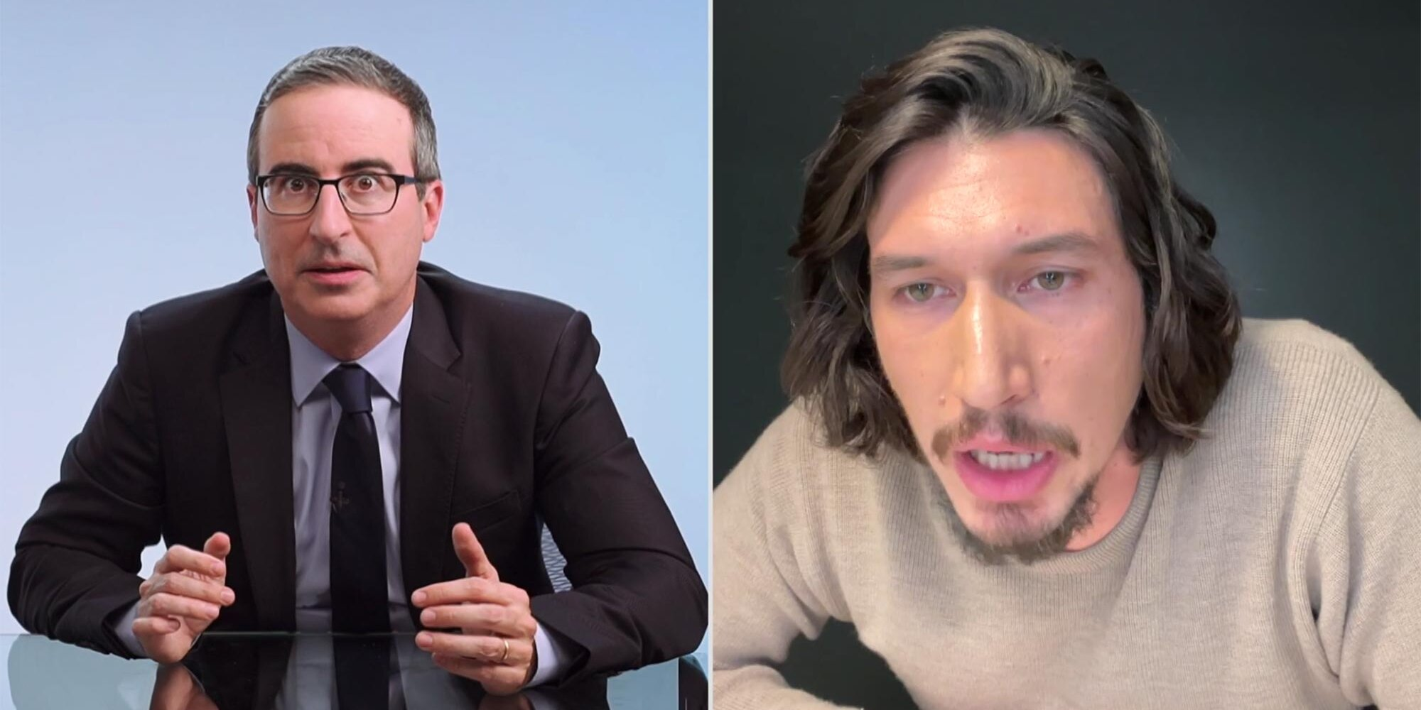 Why the 'Last Week Tonight With John Oliver' team dedicated their Emmy win to Adam Driver