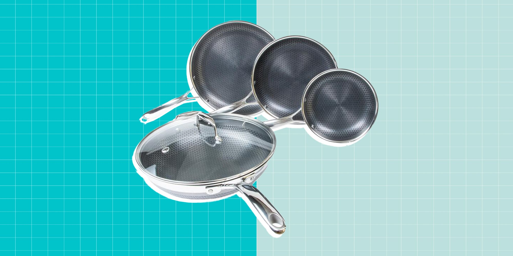 This Cookware Is a True Hybrid Between Stainless Steel and Nonstick-and It's on Sale