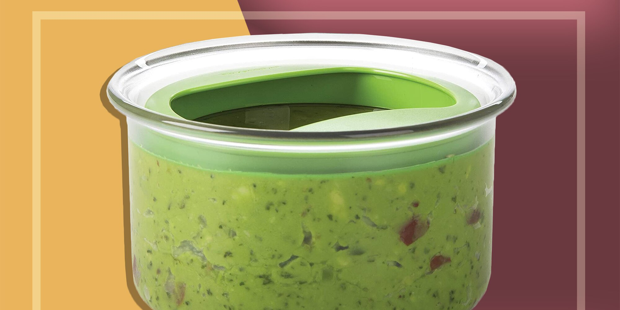 This Incredible Container Keeps Guacamole Fresh for Days