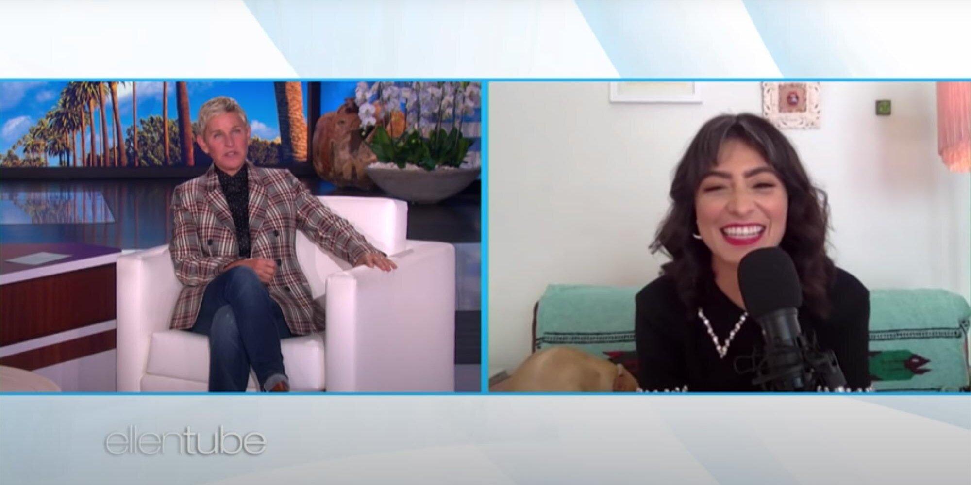 Watch SNL star Melissa Villaseñor do her Ellen DeGeneres impression for Ellen DeGeneres.jpg