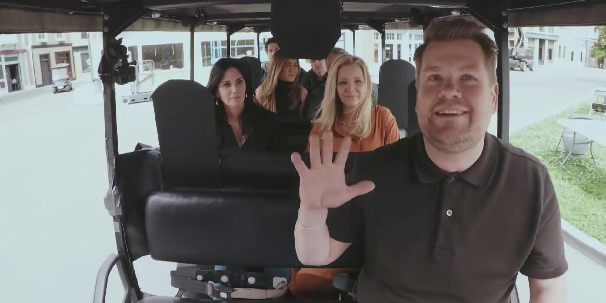 'Friends' stars sing the show's iconic theme song on Carpool Karaoke.jpg