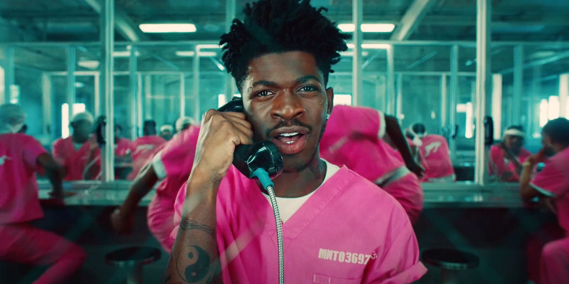 Lil Nas X Dances Nude in Music Video for New Song 'Industry Baby' Featuring Jack Harlow.jpg