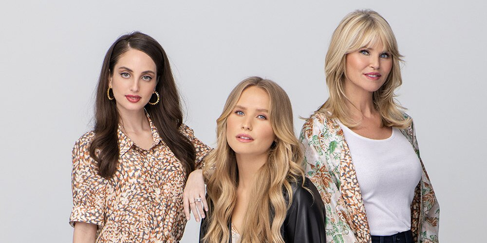 Christie Brinkley Models Alongside Daughters in Sweet Mother's Day Fashion Campaign