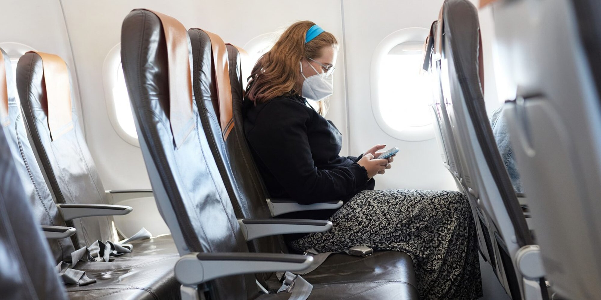 Leaving the Middle Seat Empty on Airplanes Can Reduce COVID Risk by Up to 57%, CDC Study Finds