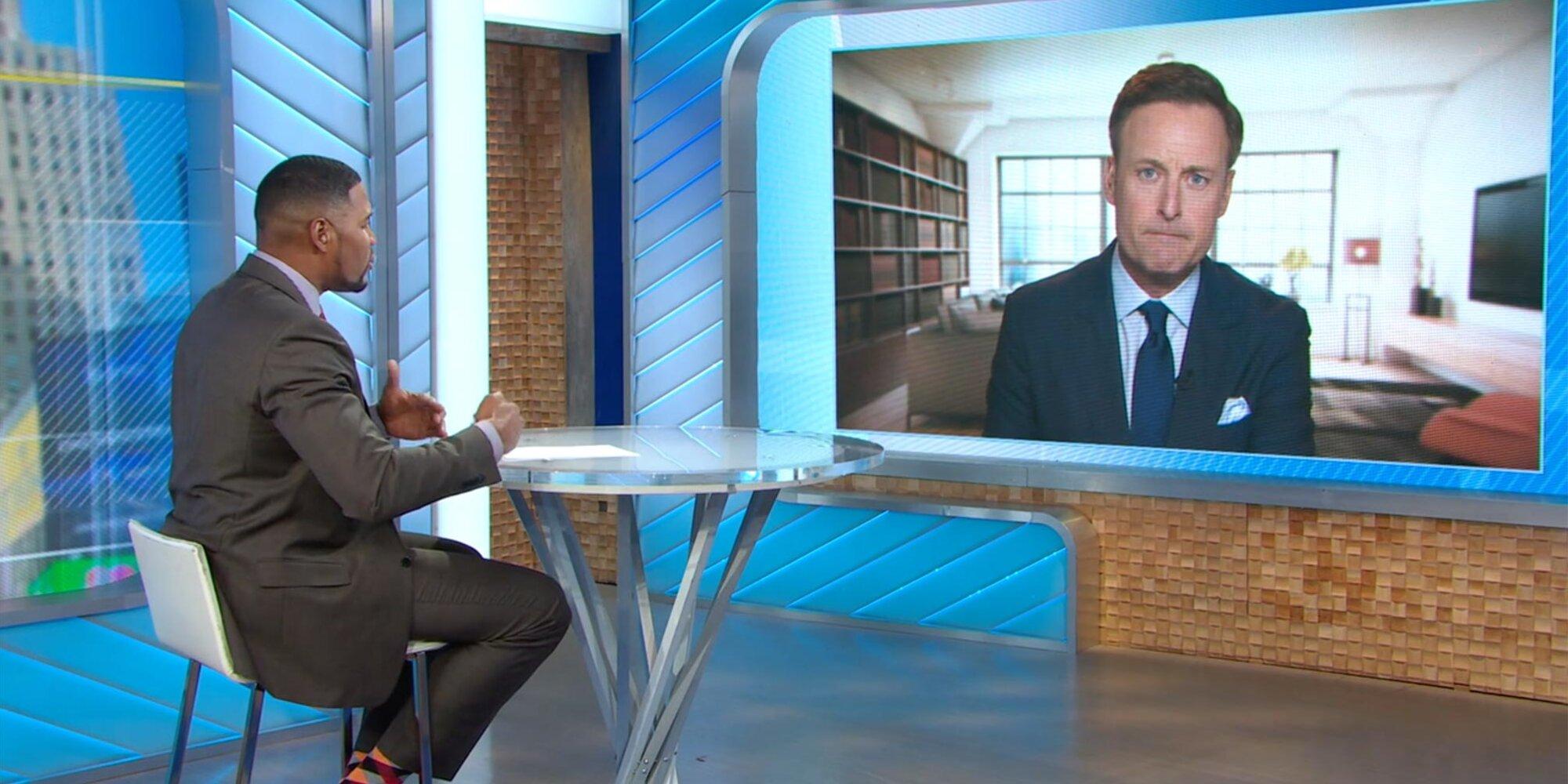 GMA's Michael Strahan calls Bachelor host Chris Harrison's apology a 'surface response'.jpg