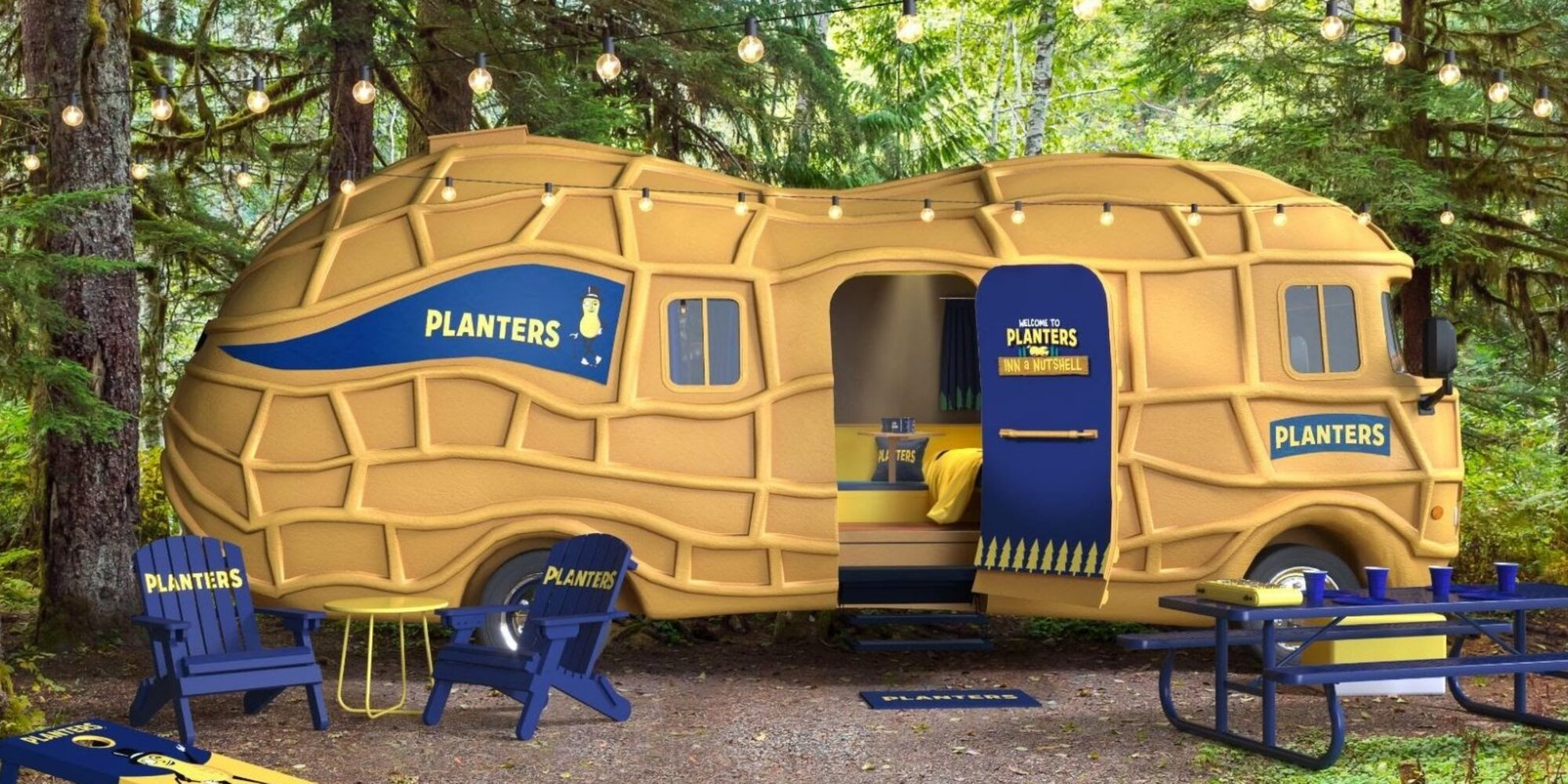 Planters Is Giving Fans a Chance to Stay in Their Gigantic Peanut 'Motel'