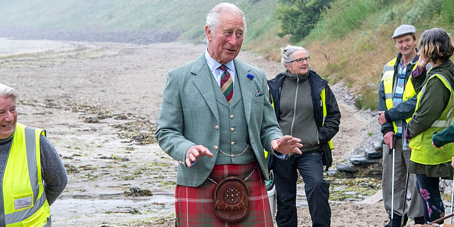 Prince Charles Just Wore a Kilt to the Beach — See His Tartan-and-Knee Socks Style.jpg