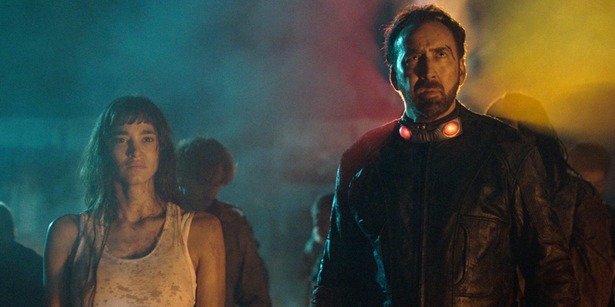 Nicolas Cage risks his life and genitals in Prisoners of the Ghostland   Prisoners of the Ghostland (2021) [Download Movie]