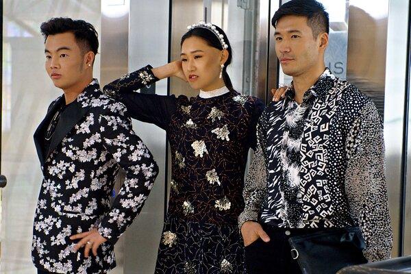 Kane Lim, Jaime Xie and Kevin Kreider in episode 8