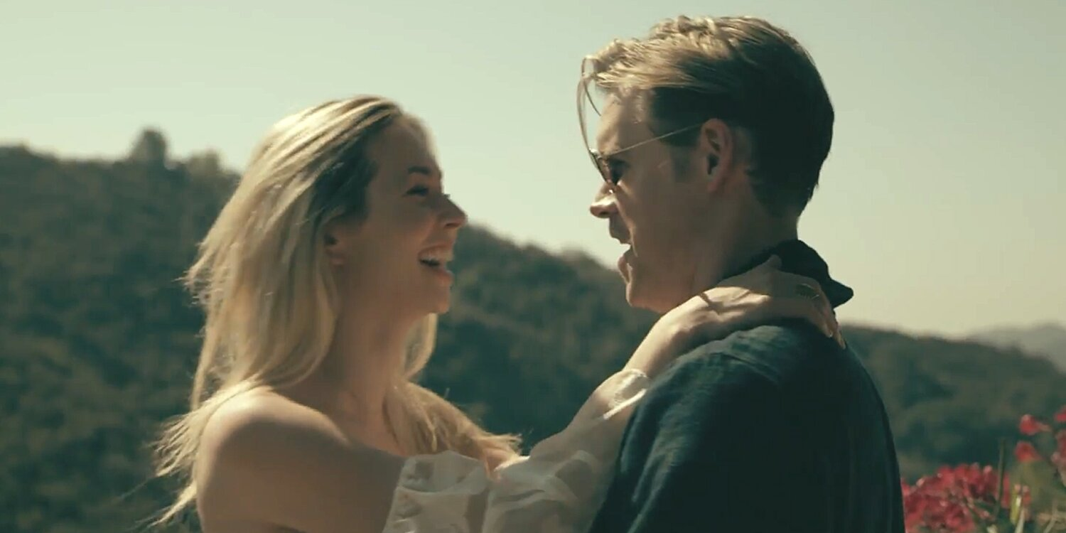 Glee's Chord Overstreet Confirms Relationship with Camelia Somers in New 'Sunkissed' Music Video.jpg