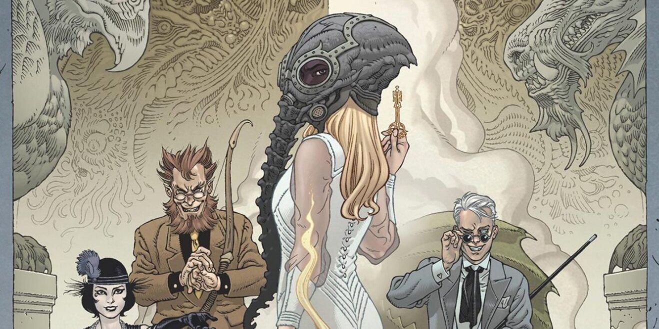 'Locke & Key' creators preview their 'Sandman' crossover comic